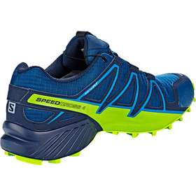 Salomon Speedcross 4 GTX Shoes Men poseidon/navy blazer/lime green
